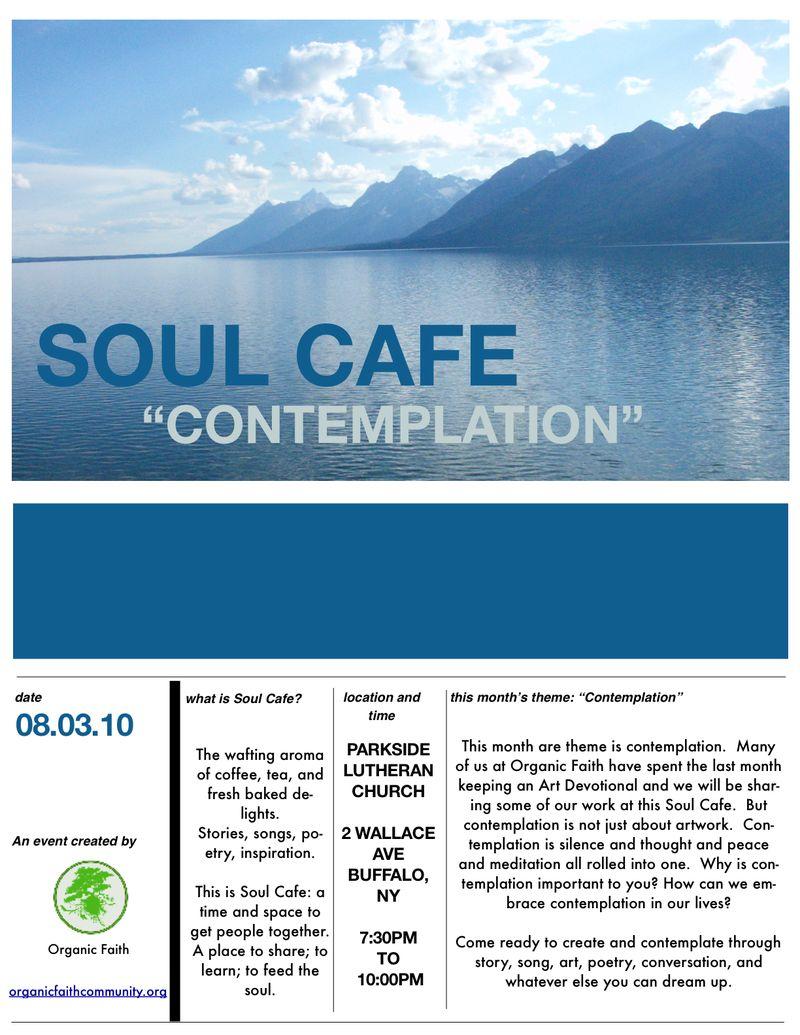 Soul Cafe 5 Flyer